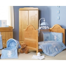 Obaby B Is For Bear Bedding (Blue)