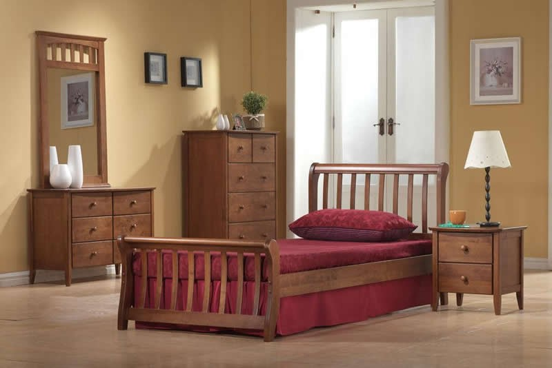 Master Beds Milan Wooden Beds