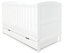 Babyhoot Cot Bed & Under Drawer