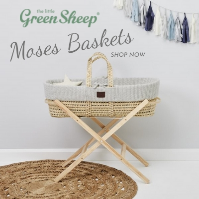 The Little Green Moses Baskets