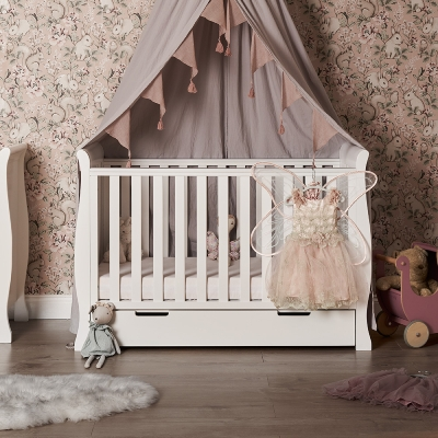 Obaby Stamford Mini Sleigh Cotbed