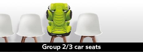 Kiddy Group 2/3 Car Seats