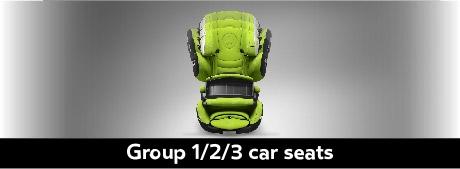 Kiddy Group 1/2/3 Car Seats
