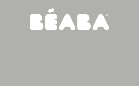 Beaba Hanging Toiletry Pouch With 9 Accessories-Grey