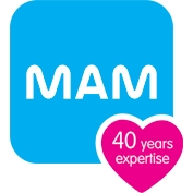 MAM Crystal 0m+ Soother (Pack of 2)-Blue